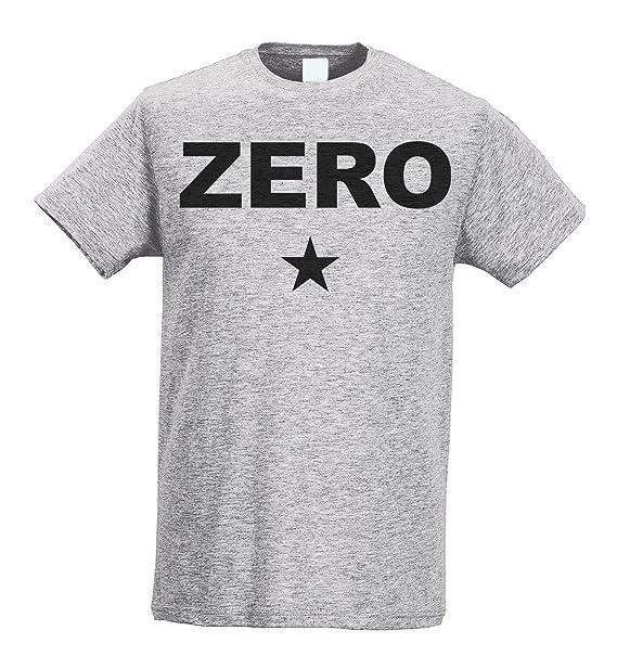 LaMAGLIERIA Camiseta Hombre Slim - Smashing Pumpkins - Zero - Camiseta 100% algodòn Ring Spun