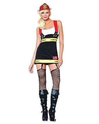 Sexy fire girl costume