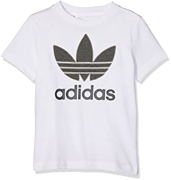 Adidas Originals FL Enhanced Camiseta de Niños, Infantil, Originals FL Enhanced, Blanco, 8 años (128 cm): Amazon.es: Deportes y aire libre
