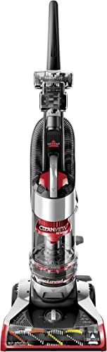 Bissell Upright Bagless Vacuum, Red Cleanview Rewind Plus – 1825