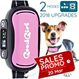 No Bark Collar For Small To Medium Dogs by GoodBoy – Waterproof Anti Bark Training Collar - Best Selling On Amazon – Safe, No Shock Design With No Spiky Prongs – Updated LCD Display ( 7+ lbs )