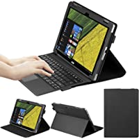 Acer Switch 3 Folio Protective Case - VOVIPO Portfolio Premium PU Leather Stand Cover Acer Switch 3 Detachable 2-in-1 Laptop