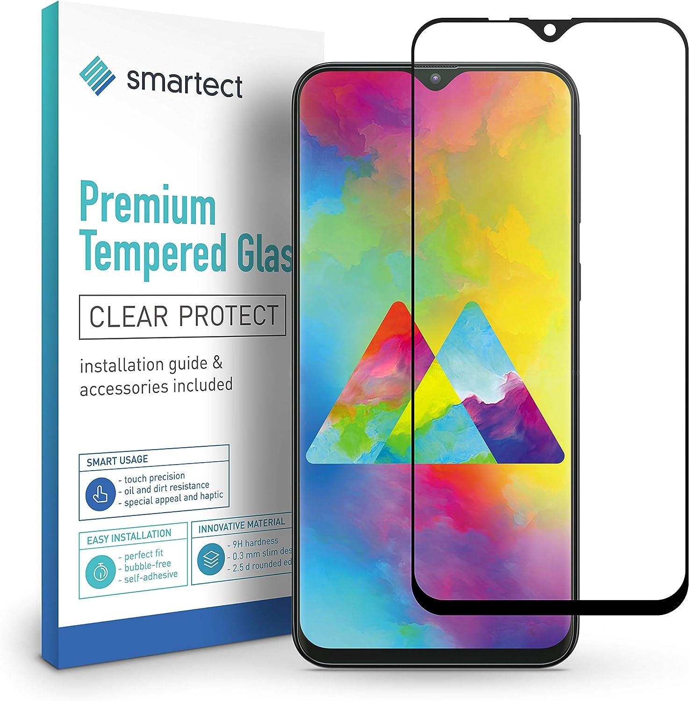 smartect Cristal Templado para Móvil Samsung Galaxy M20 [Full Screen]: Amazon.es: Electrónica