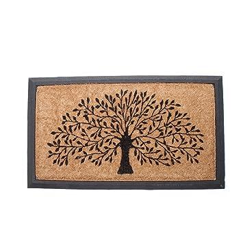 Abbott Coir and Rubber Tree of Life Door Mat  sc 1 st  Amazon UK & Abbott Coir and Rubber Tree of Life Door Mat: Amazon.co.uk: Garden ...