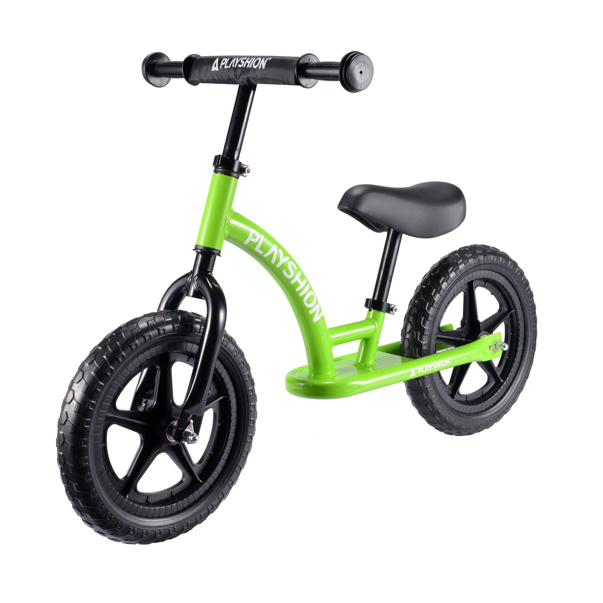 Playshion Kids Balance Bike (green)