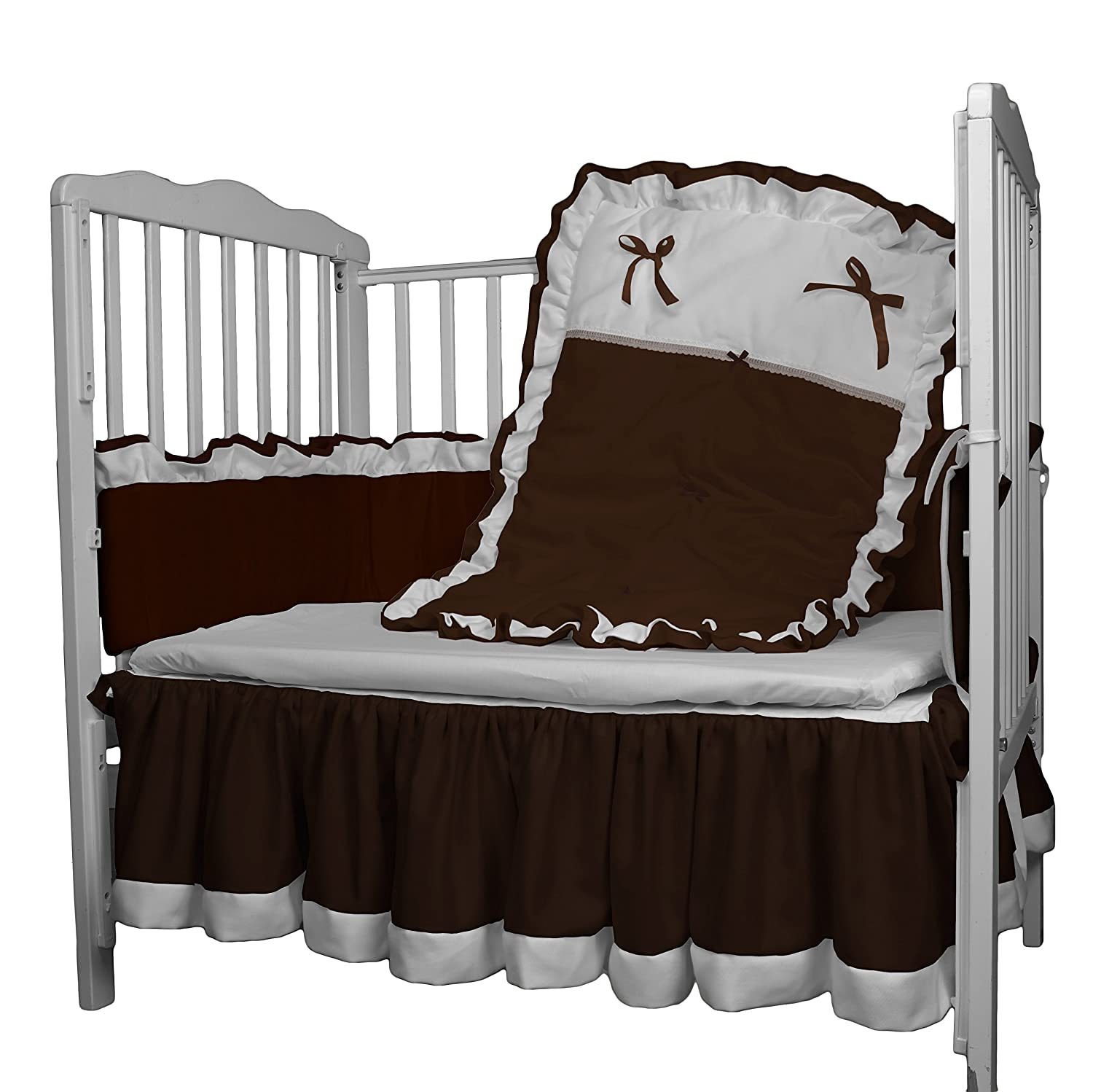 Chocolate Baby Doll Bedding Regal Diaper Stacker