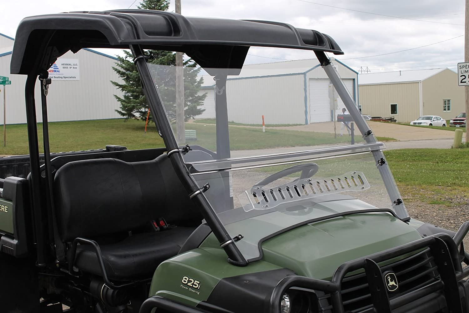 John Deere XUV 620i-625i-825i, HPX 4x4 Full Vented Windshield