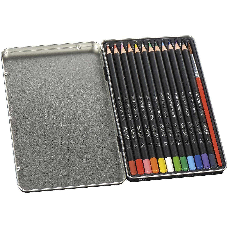 Estuche Metal 24 lápices acuareable Conté