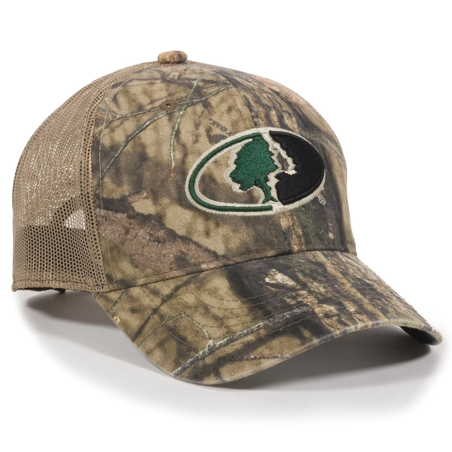 Amazon.com  Outdoor Cap Unisex-Adult Mossy Oak Camouflage Mesh Back ... 626c69c8e02