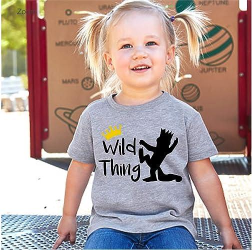 39d74342 Amazon.com: Wild Thing/Let The Wild Rumpus Start/Toddler 2T - 4T ...