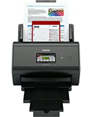Brother ADS-2800W Document Scanner, Wireless, PC Connected and Network, Desktop, Includes Professional Software
