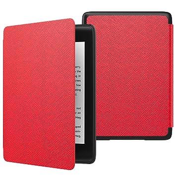 MoKo Funda para Kindle Paperwhite (10th Generation, 2018 Release), Funda de SmartShell Delgada y Ligera con Auto Sueño/Estela para Amazon Kindle ...