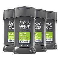 Dove Men+Care Antiperspirant Deodorant 48-Hour Wetness Protection Extra Fresh Non-Irritant Deodorant for Men 2.7 oz, 4 Count