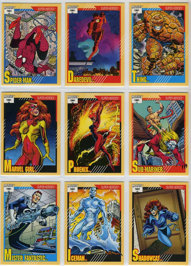 Marvel Universe Series 2 Complete 162 Card Set (1991)