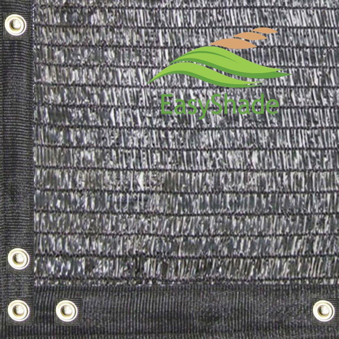 Easyshade 30% UV Shade Cloth Black Premium Mesh Shadecloth Sunblock Shade Panel 20ft x 36ft Top Quality