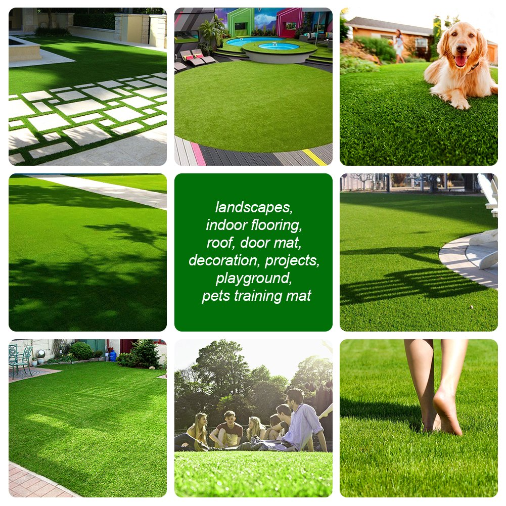 SunVilla SV7'X13' Realistic Indoor/Outdoor Artificial Grass/Turf 7 FT X 13 FT (91 Square FT) by SunVilla (Image #7)