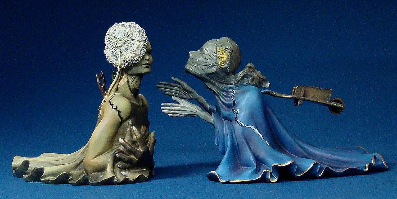 SALVADOR DALI - Tristan und Isolde - Museumsshop Figur SD07
