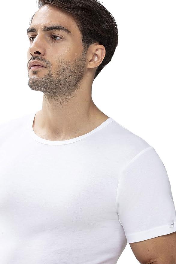 7//XL weiß 2 x Mey Herren T-Shirt Noblesse Rundhals Unterhemden Serie 2806 Gr