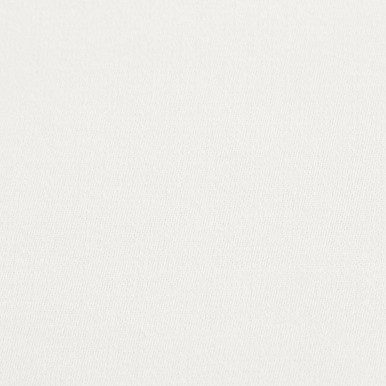 Cream Basics 200-Thread-Count Polycotton Flat Sheet 180 x 290 x 10 cm
