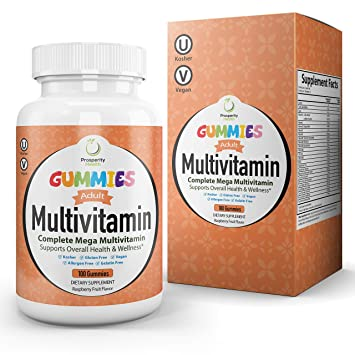 Amazon.com: Adultos Mega Multivitamin Gummy por Prosperidad ...