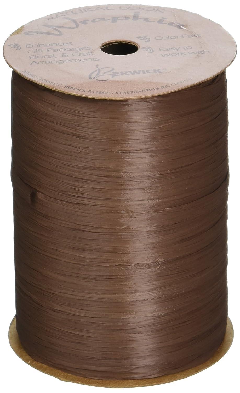 Berwick Wraphia Matte Rayon Craft Ribbon Citrus 100-Yard Spool