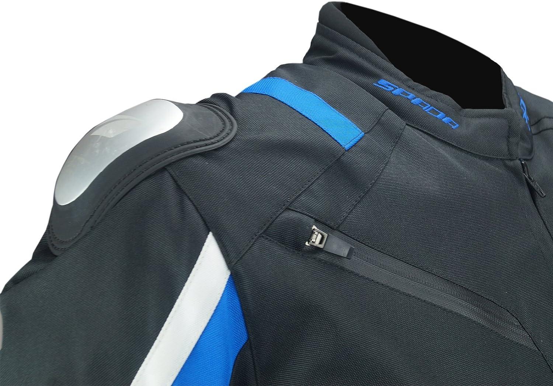 Spada Veste Moto Textile X-Sport WP Noir//Gris//Blanc