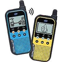 VTech KidiTalkie 6 en 1, Walkie Talkie, envía Mensajes y Juega con una conexión Segura, Mantener Las distancias al…