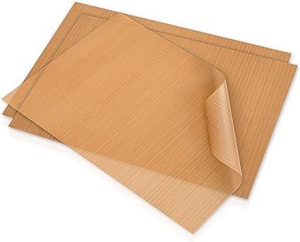 SOOTOP Lot de 100 feuilles de cuisson r/éutilisables en papier de cuisson pour barbecue papier sulfuris/é double face pour cuisson et barbecue