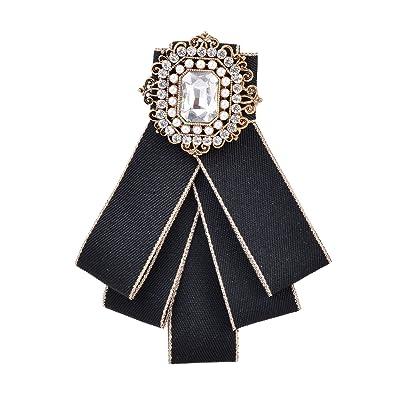 Amazon.com: OBONNIE - Broche de lazo para cuello, diseño ...
