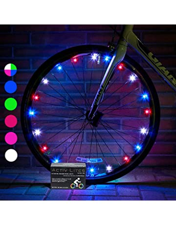 803e1ce30f0 Activ Life LED Bike Wheel Lights with Batteries Included! Get 100% Brighter  and Visible