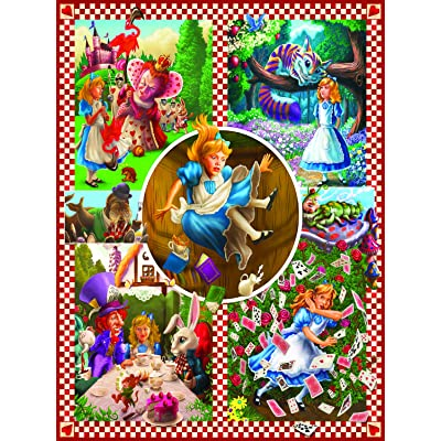 Classic Tales: Alice in Wonderland 1000 pc Jigsaw Puzzle by SunsOut: Toys & Games