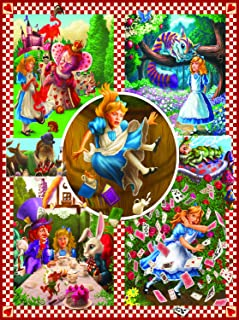 product image for Classic Tales: Alice in Wonderland 1000 pc Jigsaw Puzzle by SunsOut