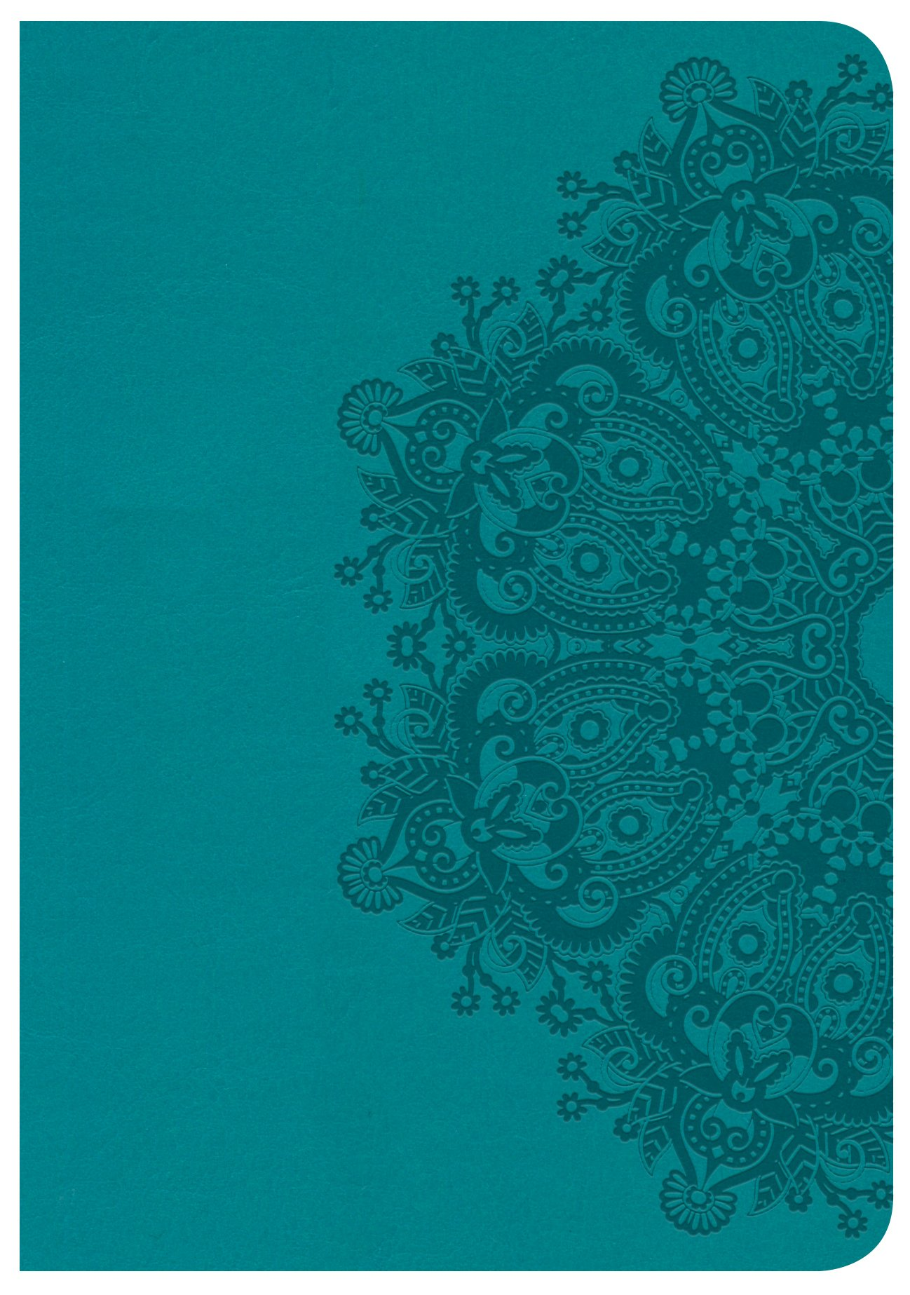 Download CSB Large Print Compact Reference Bible, Teal LeatherTouch ebook