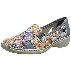 Rieker 41385 Doris 85 Flat Casual Women's Shoes