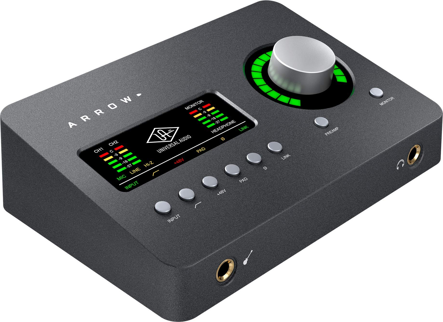 Audio Universal Arrow Thunderbolt 3 Interfaz de audio