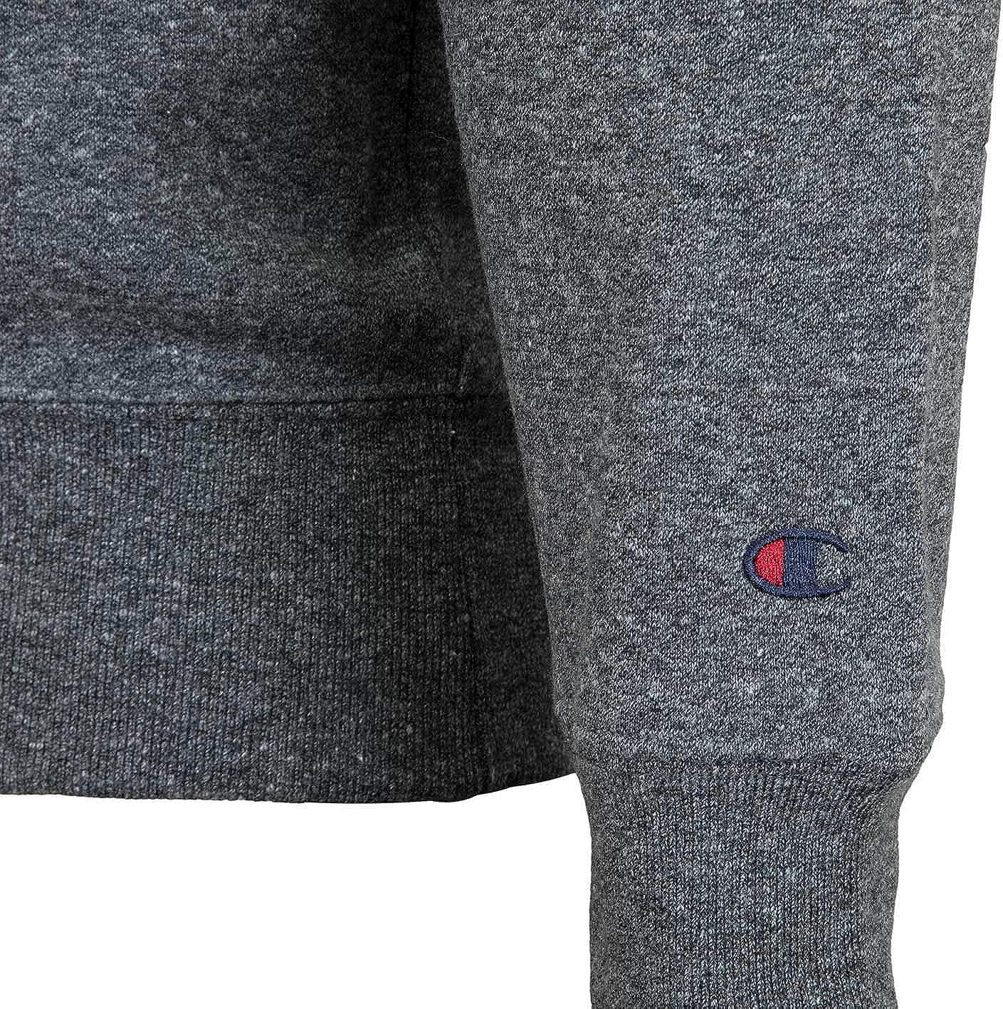 Champion Logo Sweatshirt Sweater Dark Grey