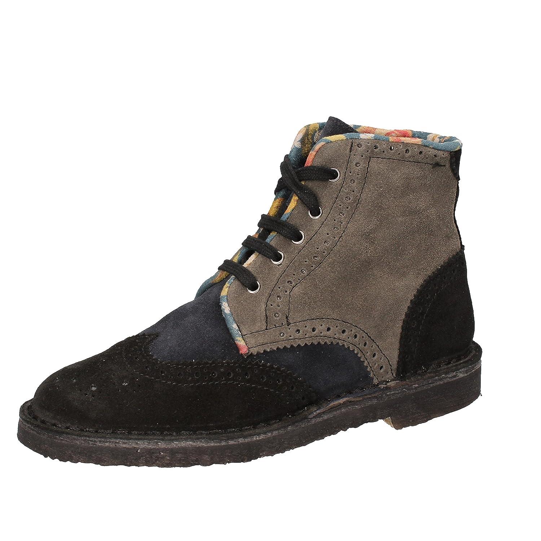 KEP'S by CORAF Mujer zapatillas altas 38|negro / azul claro