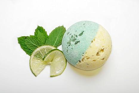 Jewel Bath Bomb , TROIS Boule De Bain Mojito (effervescente