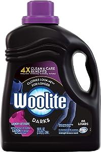 Woolite Darks Liquid Laundry Detergent, HE Compatible with Colour Renew, 50 Loads - 100 Fl Oz / 2.96L