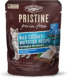 Castor & Pollux Pristine Grain Free Morsels in Gravy Wet Cat Food (24) 3 oz. Pouches