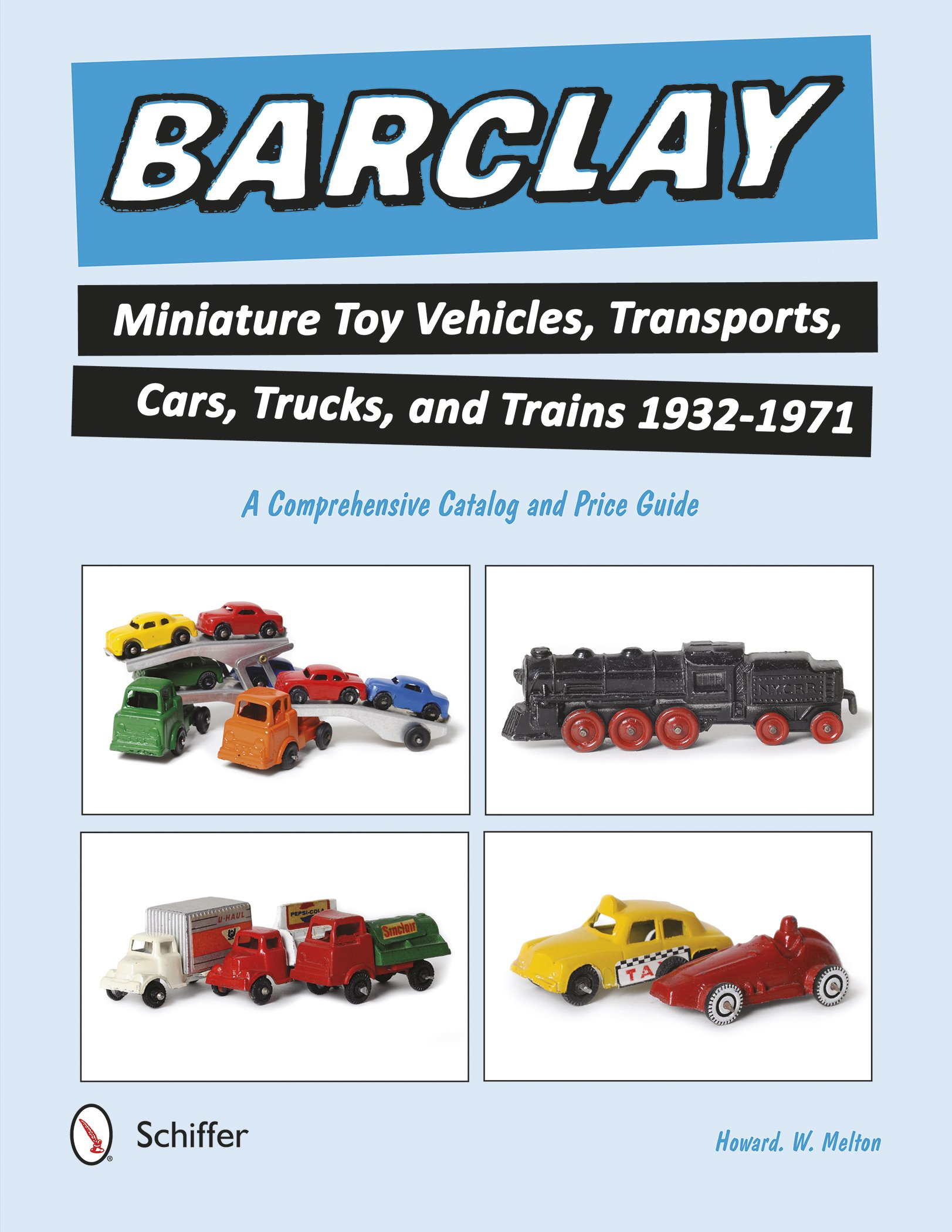 Barclay Miniature Toy Vehicles, Transports, Cars, Trucks, and Trains ...