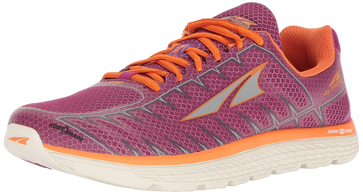 Altra One V3 Women's Road Running Shoe B01N6JCEFP 9.5 B(M) US|Purple/Orange