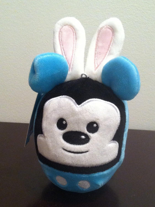 "6"" Hallmark Fluffball Easter Bunny Mickey Mouse Plush"