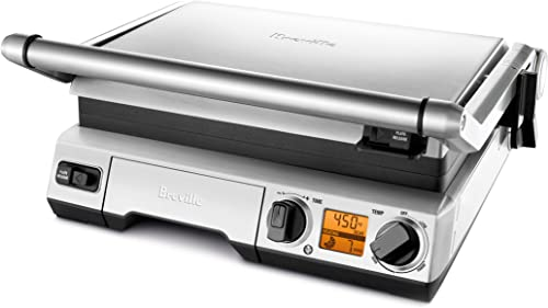 Breville-BGR820XL-Smart-Grill,-Smokeless-Indoor-Grill,-Brushed-Stainless-Steel