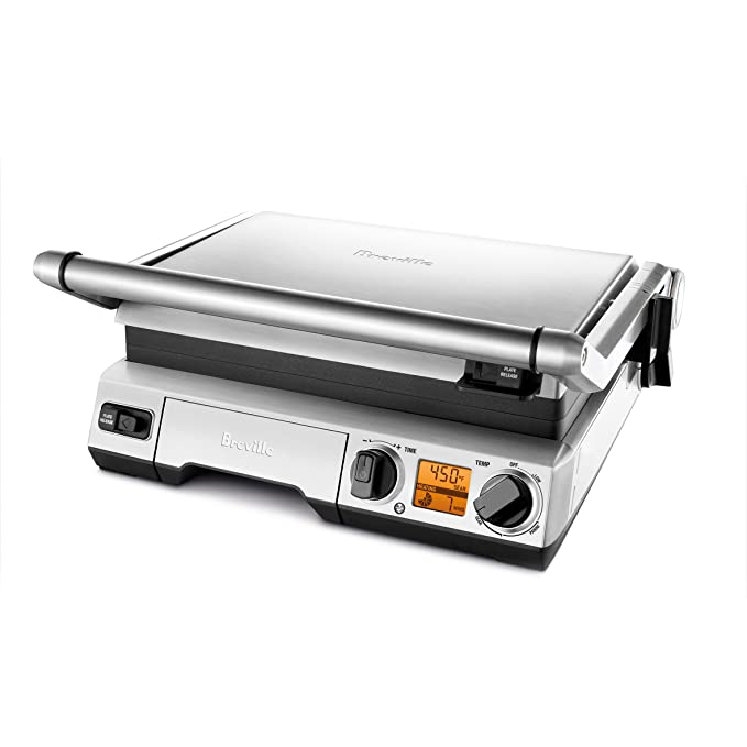 Breville BGR820XL Smart Grill – Best High-End Indoor Grill