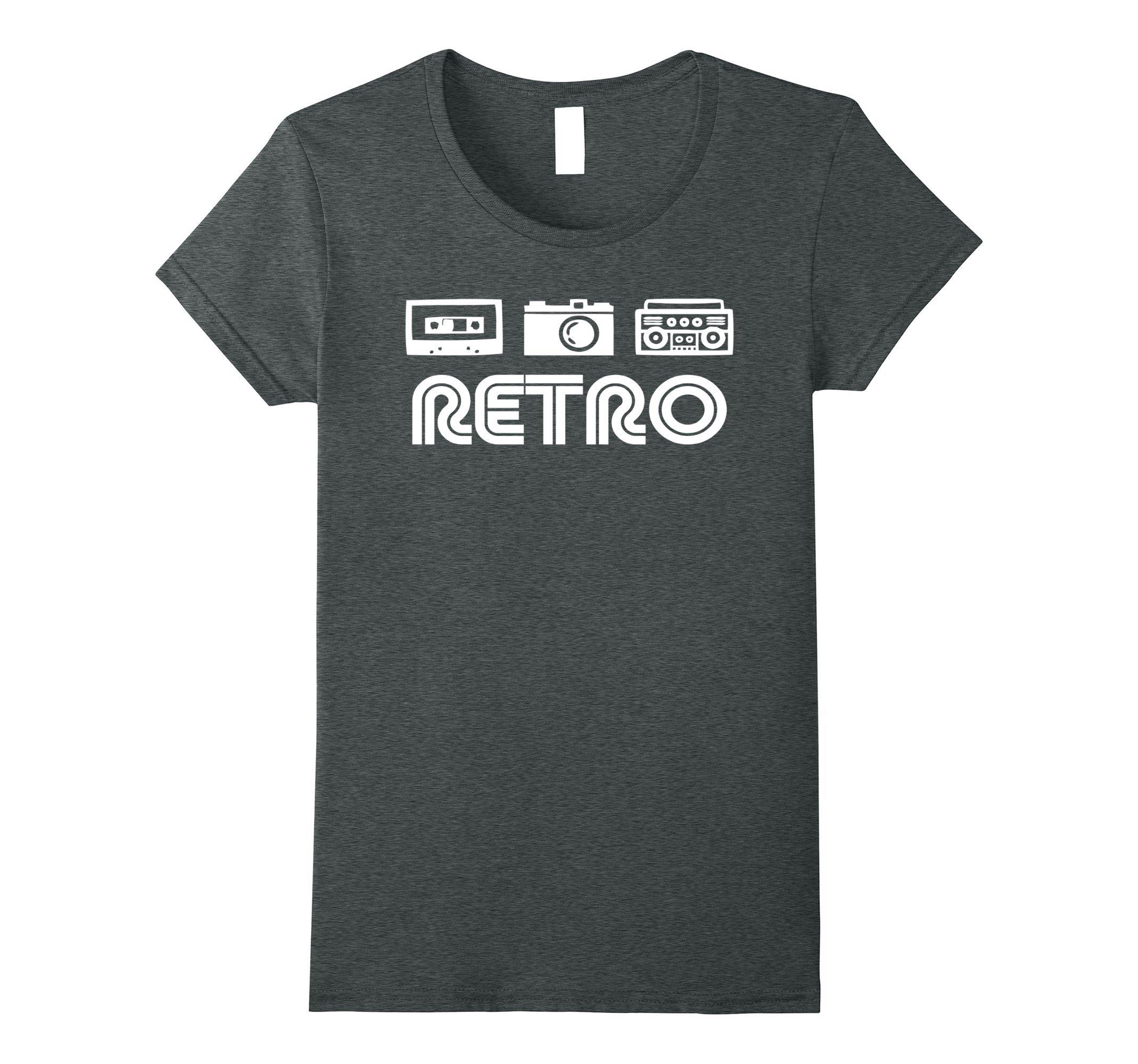 Tape Camera Boombox Shirt Retro Tshirt