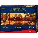 Triptychon - 606031000 - Puzzle adulte - Pyramides -  2000 Pièces -  Multicolore