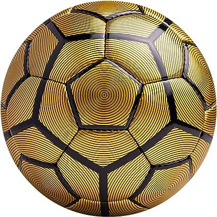American challenge Bergamo balón de fútbol, Dorado/negro: Amazon ...