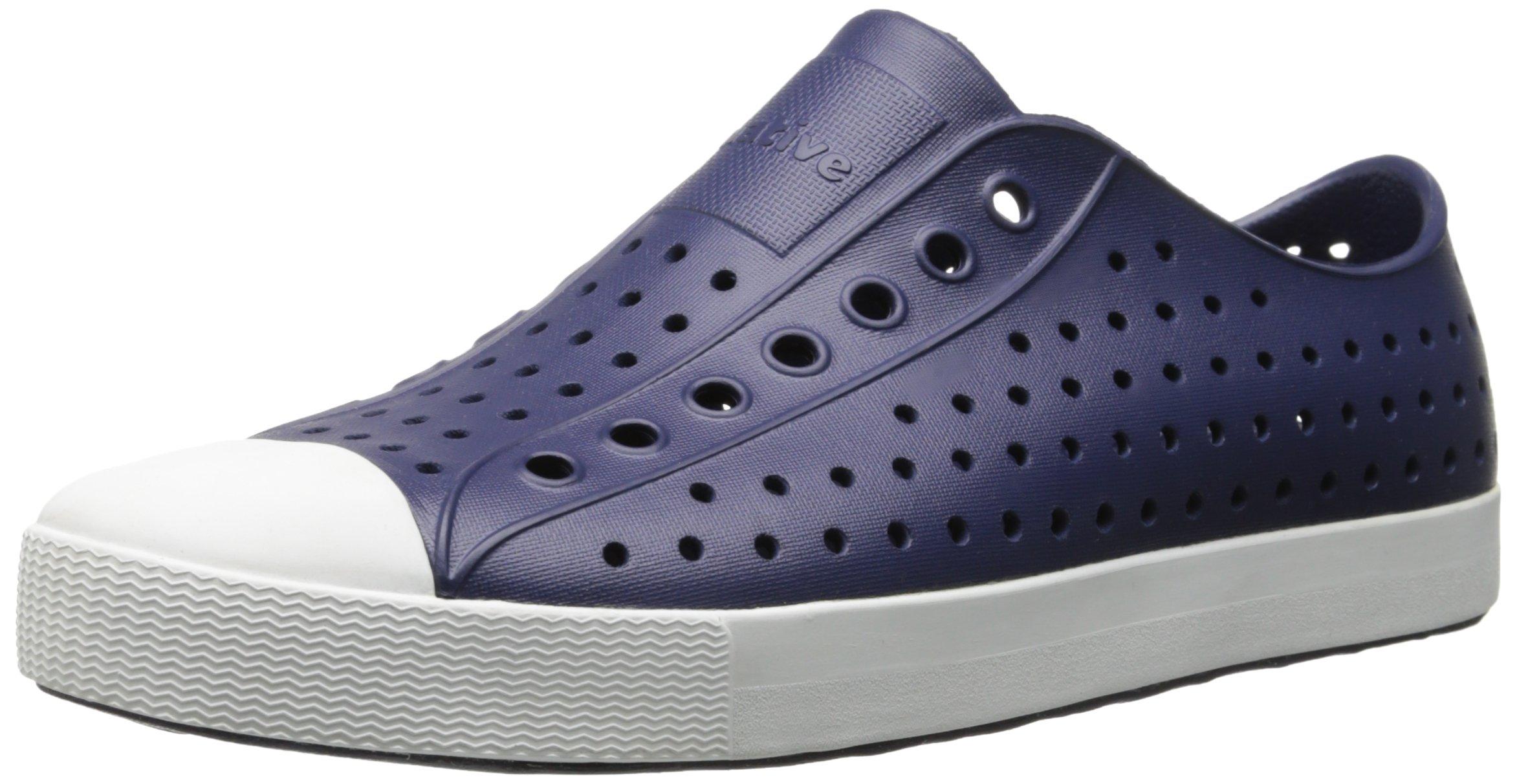 Native Shoes Jefferson Water Shoe, Regatta Blue/Shell White, 3 Men's (5 B US Women's) M US