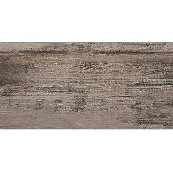 Holzoptik Bodenfliesen Santiago Grau Braun 30x60cm